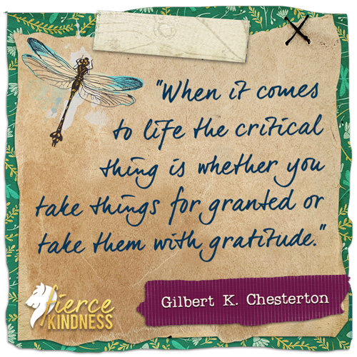 Gilbert Chesterton Gratitude Quote