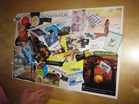 How to Create a Vision Board - Example