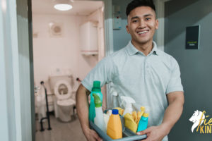 Cleaner as an essential worker