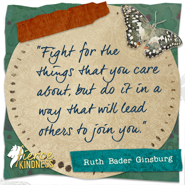 Ruth Bader Ginsburg Quote Graphic