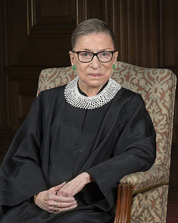A 2016 Portrait of Ruth Bader Ginsburg