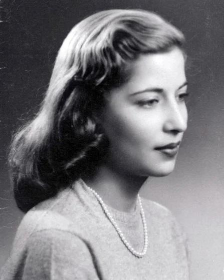 Ruth Bader Ginsburg in 1953