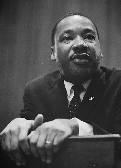 Martin Luther King Quotes at Lectern