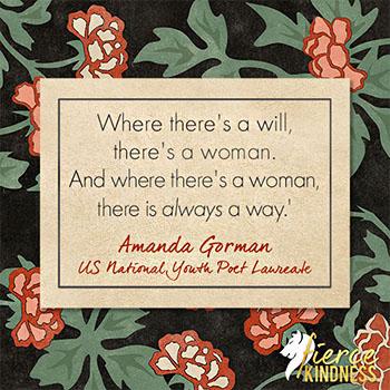 Amanda Gorman Woman Quote