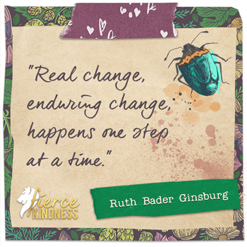 Ruth Bader Ginsburg Quote on Change