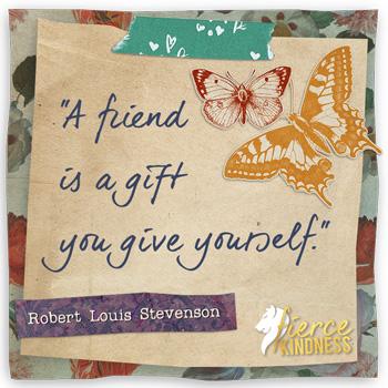 Robert Louis Stevenson Quote on Friendship