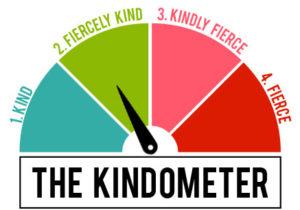 Level 2) Fiercely Kind on the Kindometer